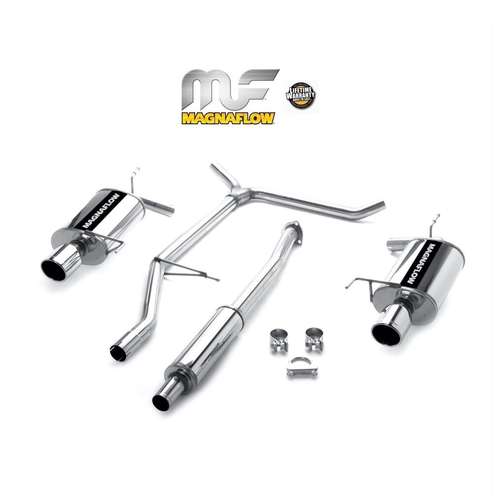 magnaflow 1998 2002 honda accord lx ex 3 0l v6 catback exhaust system ebay. Black Bedroom Furniture Sets. Home Design Ideas
