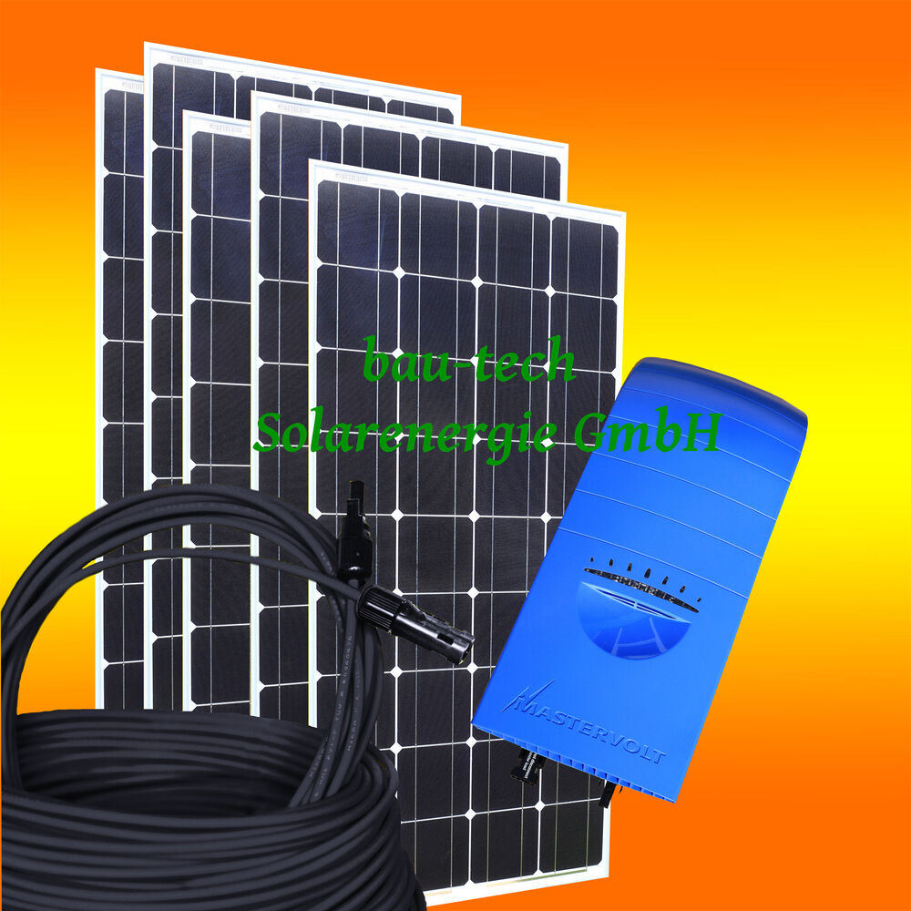 650watt pv hausanlage solar set solaranlage inkl solarpanele wechselrichter ebay. Black Bedroom Furniture Sets. Home Design Ideas
