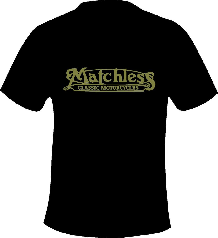 Matchless motorcycles vintage retro motorcycle printed t for Vintage t shirt printing