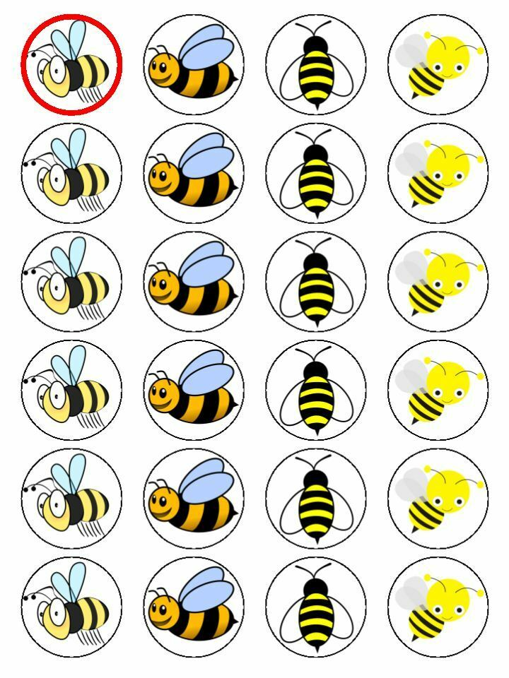 bumble and bumble free haircut x24 honey bee bumble bee cup cake toppers decorations on 3886