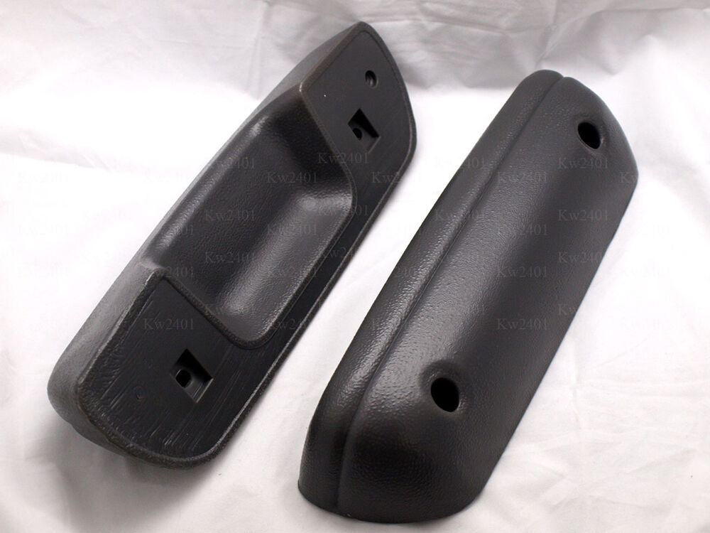 1 Pair Arm Rest Door Handle Pull For Toyota Hilux Pickup Mk3 1989 1997 Ebay