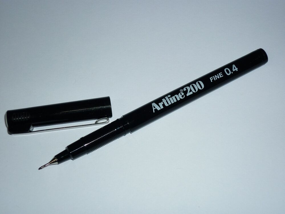 Artline 200 writing pen fine black artline200 Elegant writer calligraphy pens