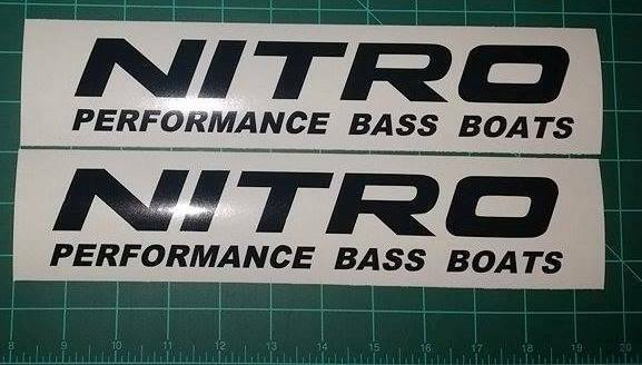 Nitro Boat Decals Images Reverse Search - Nitro bass boat decals