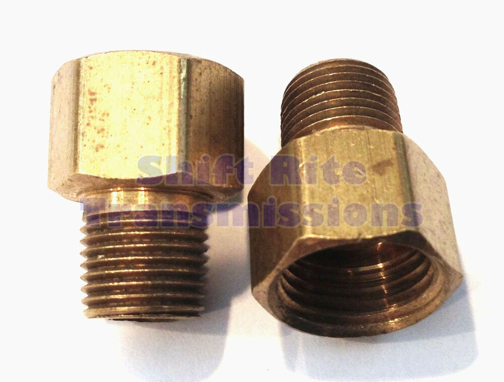 5 16 Quot F To 1 8 Quot Mpt Screw In Cooler Line Fitting Conversion
