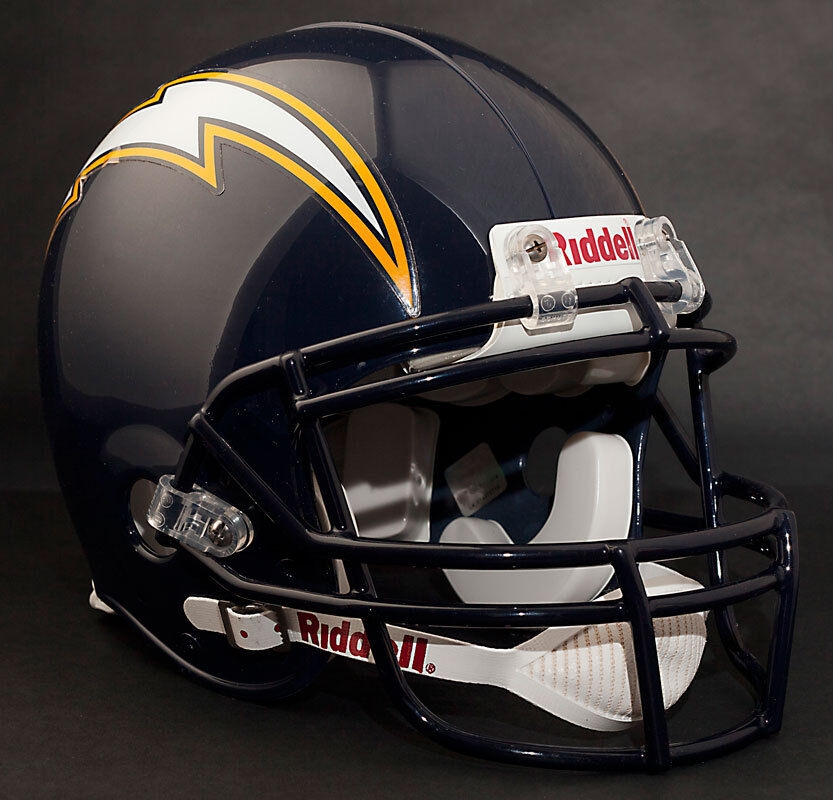 San Diego Chargers Football Helmet: PHILIP RIVERS Edition SAN DIEGO CHARGERS Riddell AUTHENTIC