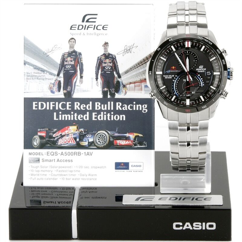 be63eeece0f Tissot Men s T0484172705701 T-Race Red Strap Chronograph Watch  Tissot . Casio  Edifice Red Bull Limited Edition.