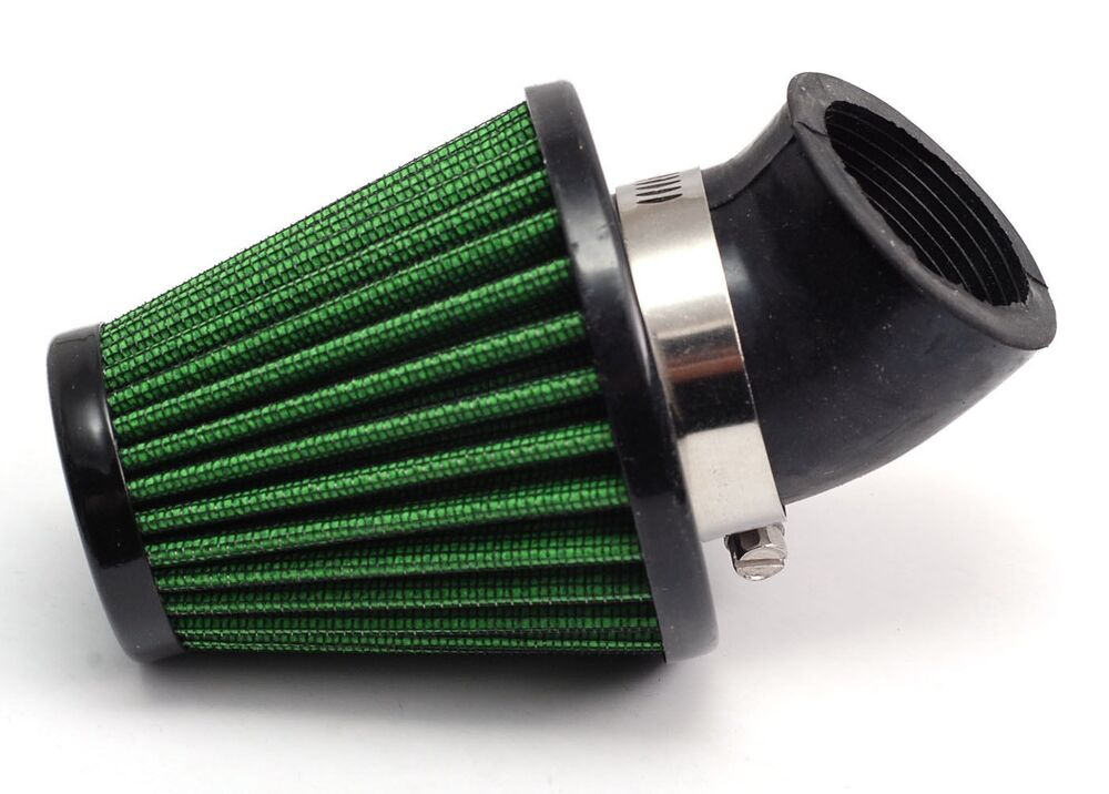 Moped Air Filter : Motorcycle atv scooter air filter cleaner mm clamp for