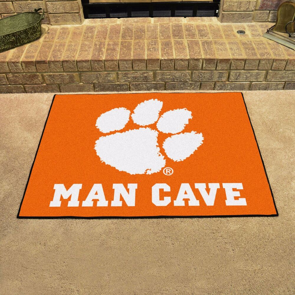 Man Cave Store Main Belton Mo : Clemson tigers quot man cave all star area rug floor