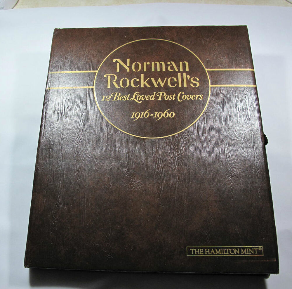 Norman Rockwell S 12 Best Loved Post Covers Silver Bullion
