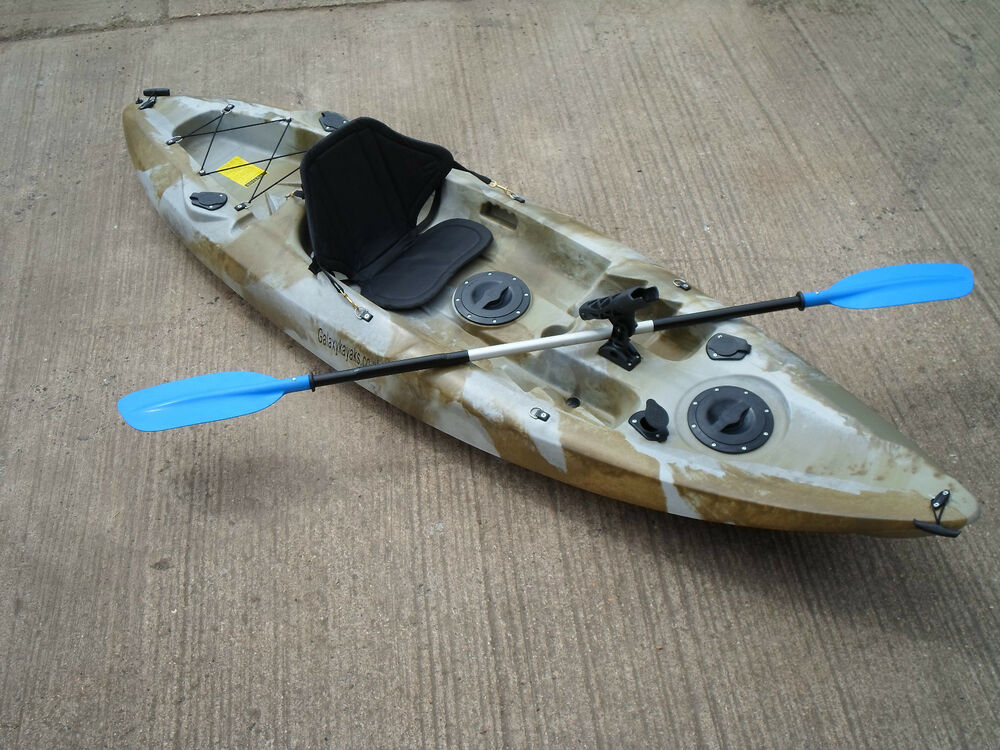 Sit on top fishing kayak canoe galaxy model ebay for Sit on vs sit in kayak for fishing