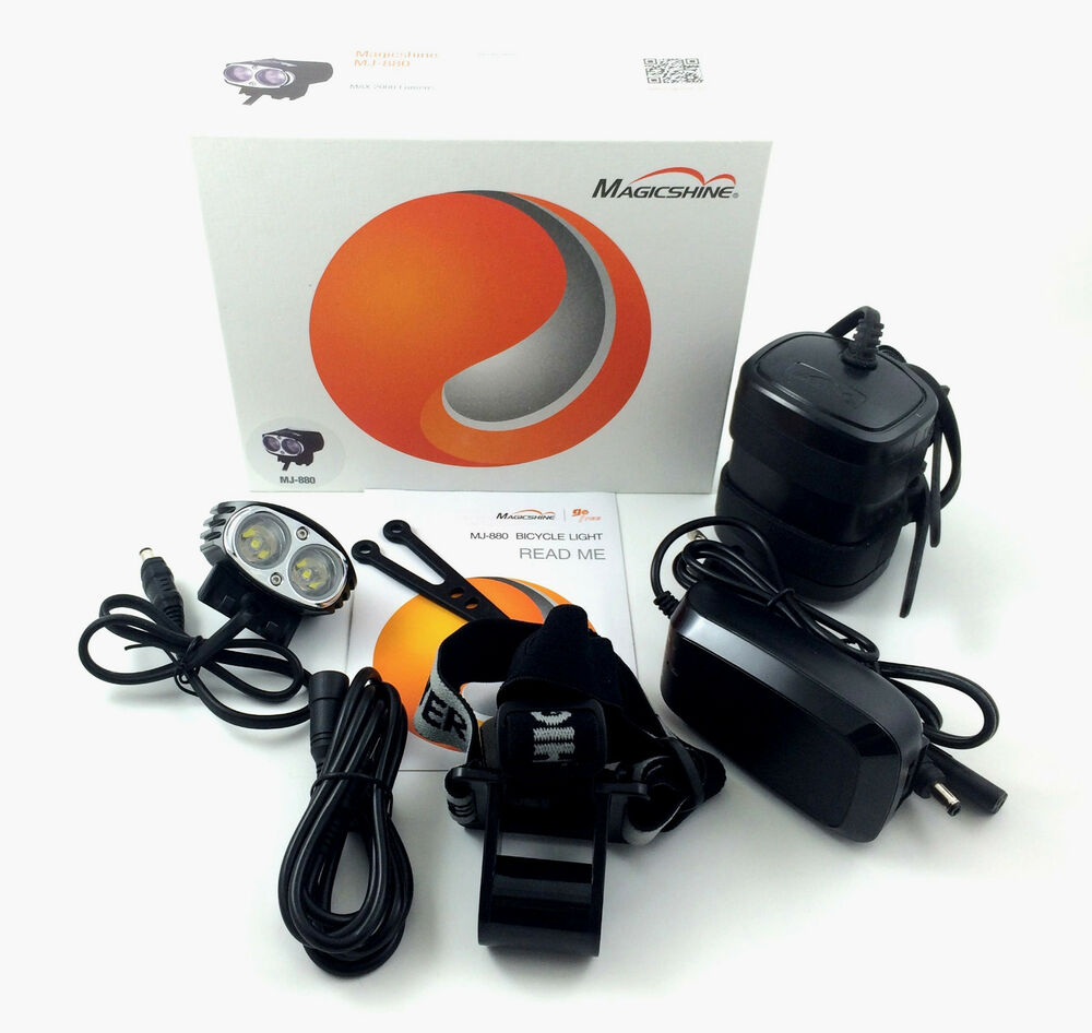 MagicShine MJ880 XM-L2 Version 2000LM LED Bike Light 6.6Ah