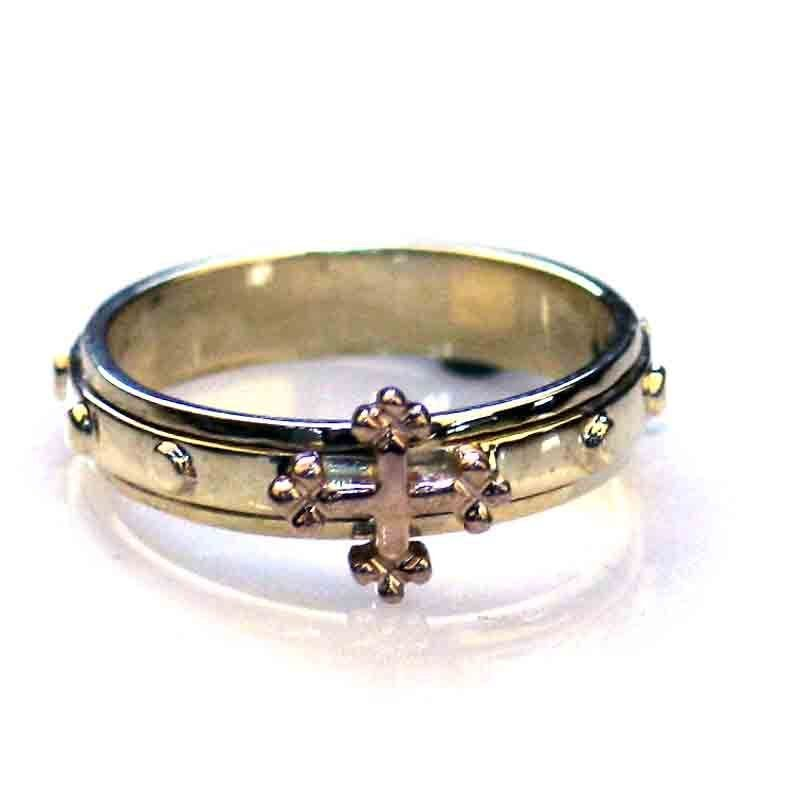 Rosary Ring Gold