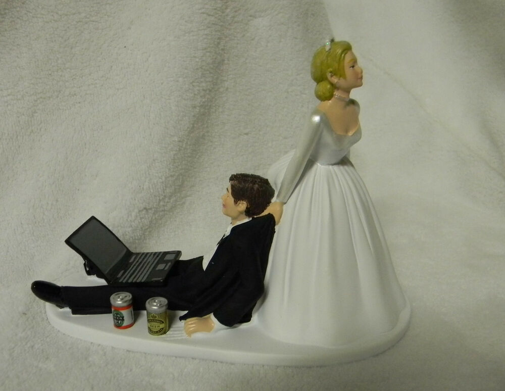 beer wedding cake topper wedding cake topper cans computer laptop 11259