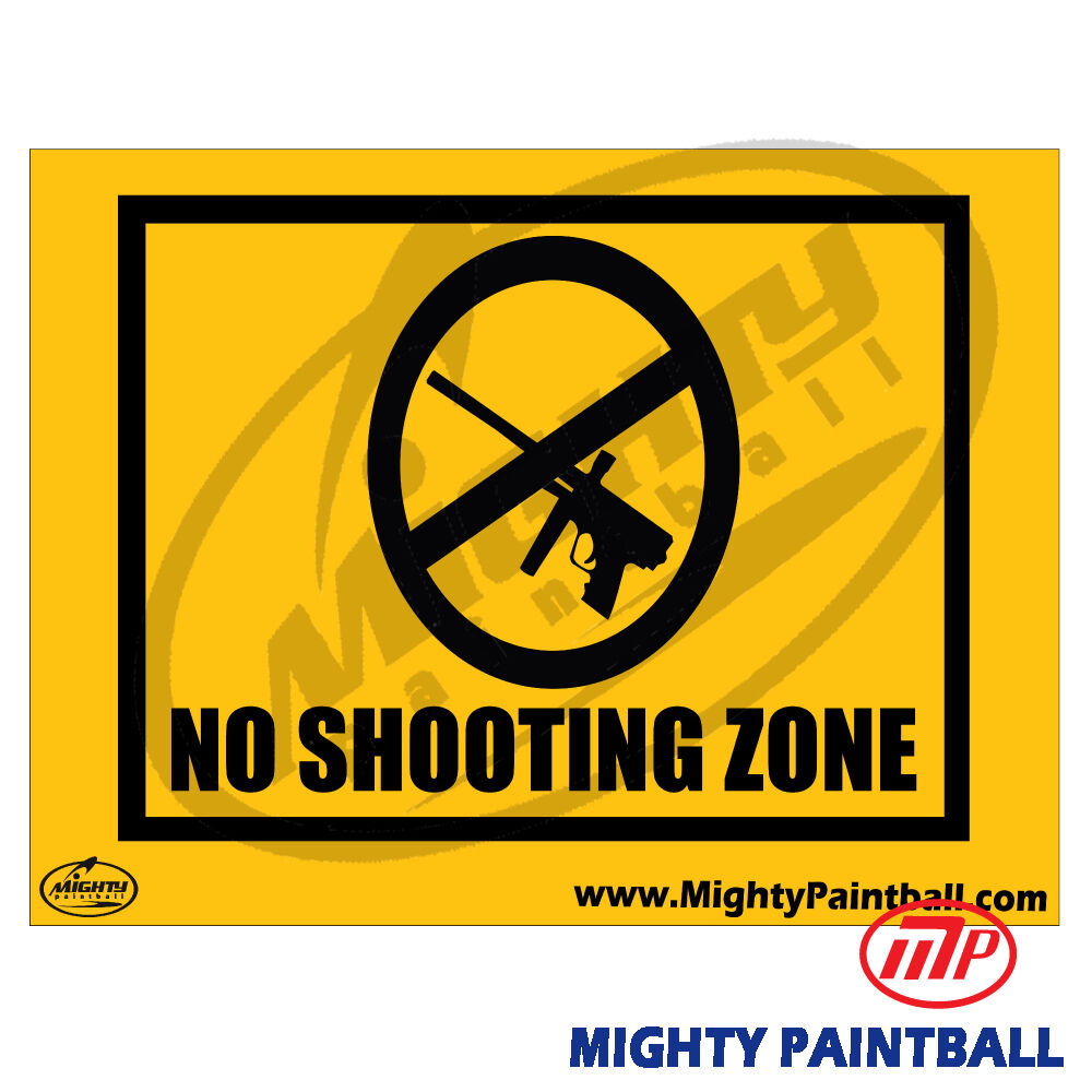 paintball sign - photo #2