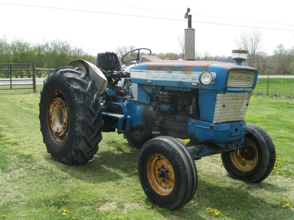 Ford 5000 Diesel Tractor Parts : Ford diesel tractor ebay