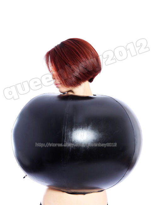 100 Latex Rubber Gummi 0 8mm Inflatable Top Ball Catsuit