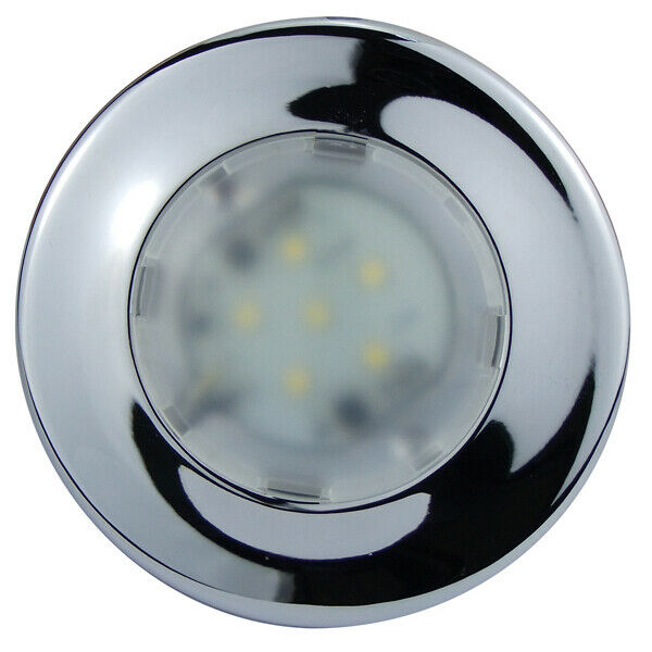 12 Volt Marine Lights: LED CABIN DOME LIGHT-BOAT LAMP Surface Mount Ultra Slim