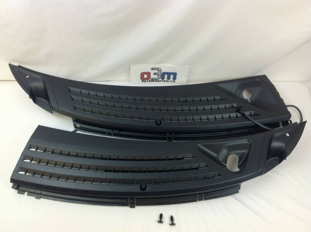 2004 2008 ford f150 front rh lh wiper cowl panel grilles for I s bains cowling