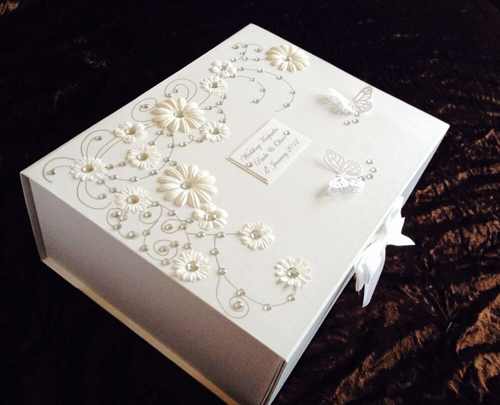 Wedding Keepsake Gifts Uk : ... Wedding/Engagement/Birthday Personalised Keepsake/Memory Box Gift