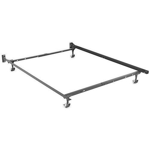 Adjustable Full Queen Bed Frame : Brand new adjustable metal queen full twin size bed frame