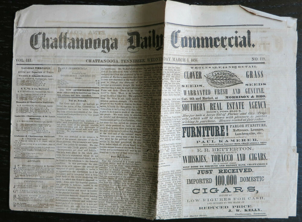 how to give commercial in newspaper