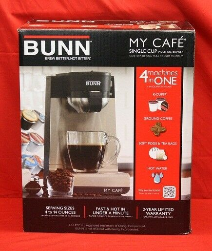 Coffee Brewer For Cafe : BUNN MY CAFE 1 CUP SINGLE SERVE POD BREWER COFFEE MAKER!! BRAND NEW!! eBay