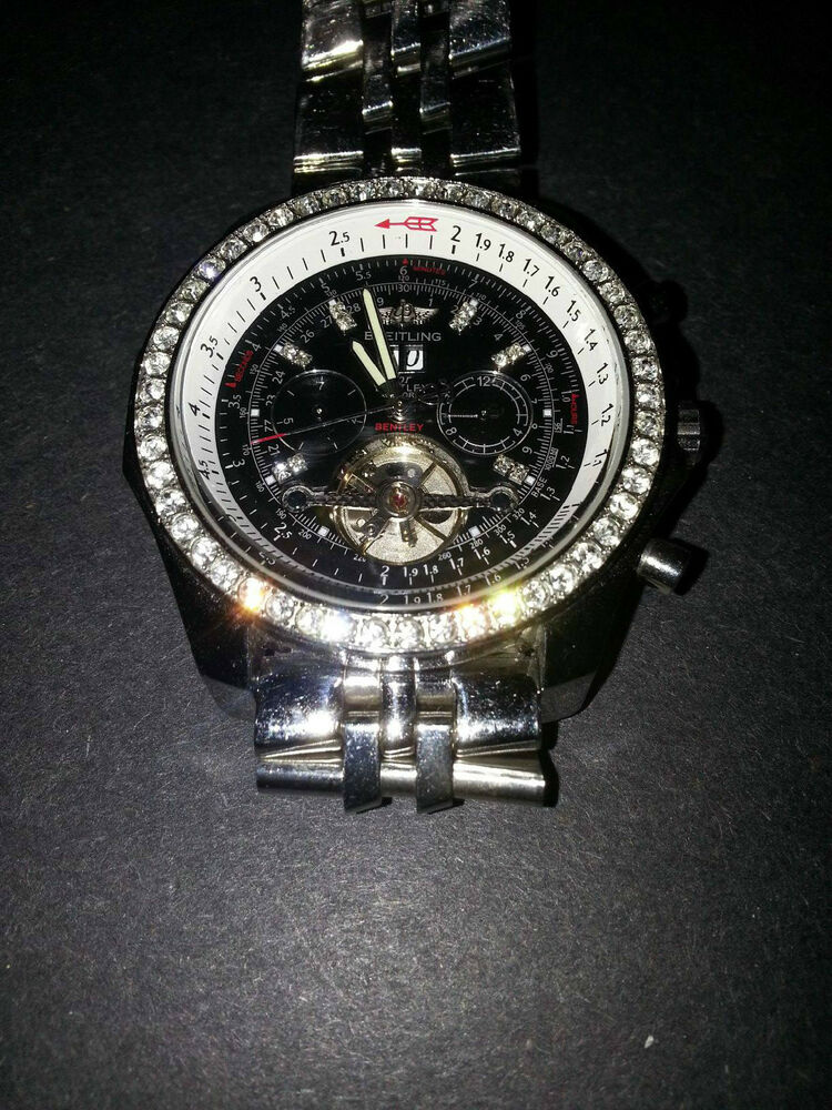 Breitling for bentley motors special edition certified for Breitling watches bentley motors special edition a25362