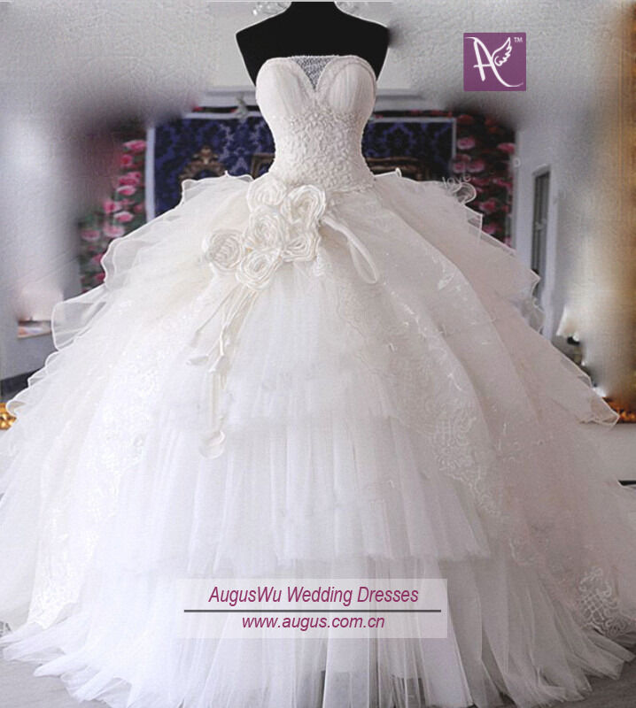 Vintage White Ball Gown Prom Applique Quinceanera