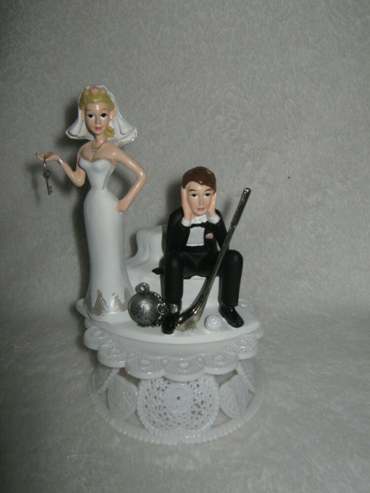 golf ball wedding cake topper wedding reception golf club amp golfer par 4 14842