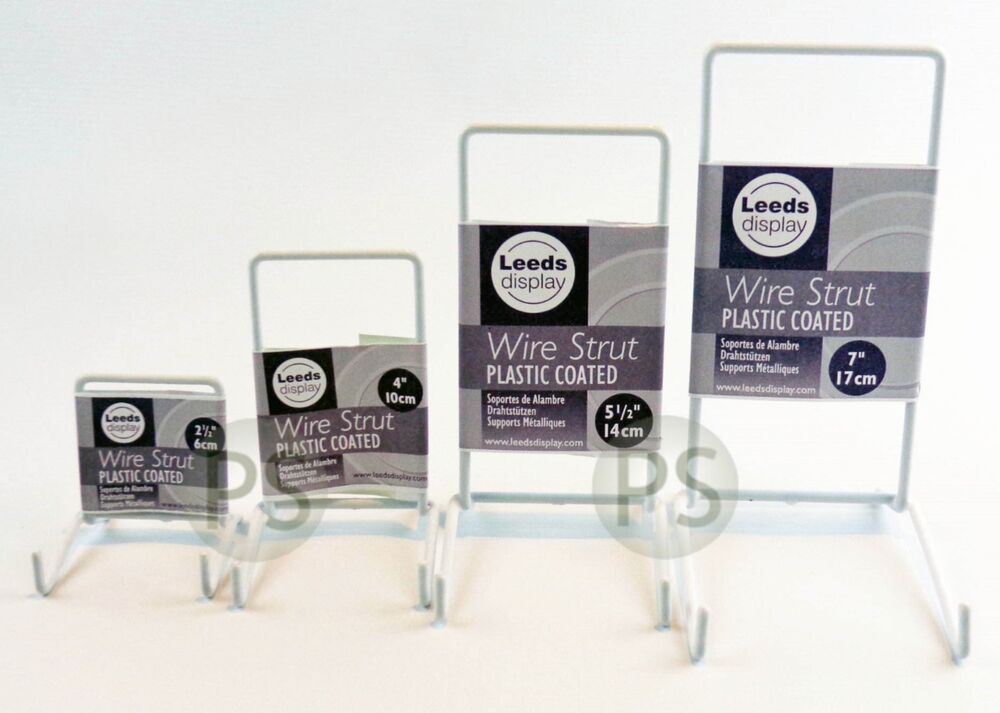 Exhibition Stand Leeds : White wire display stands set of plate photo