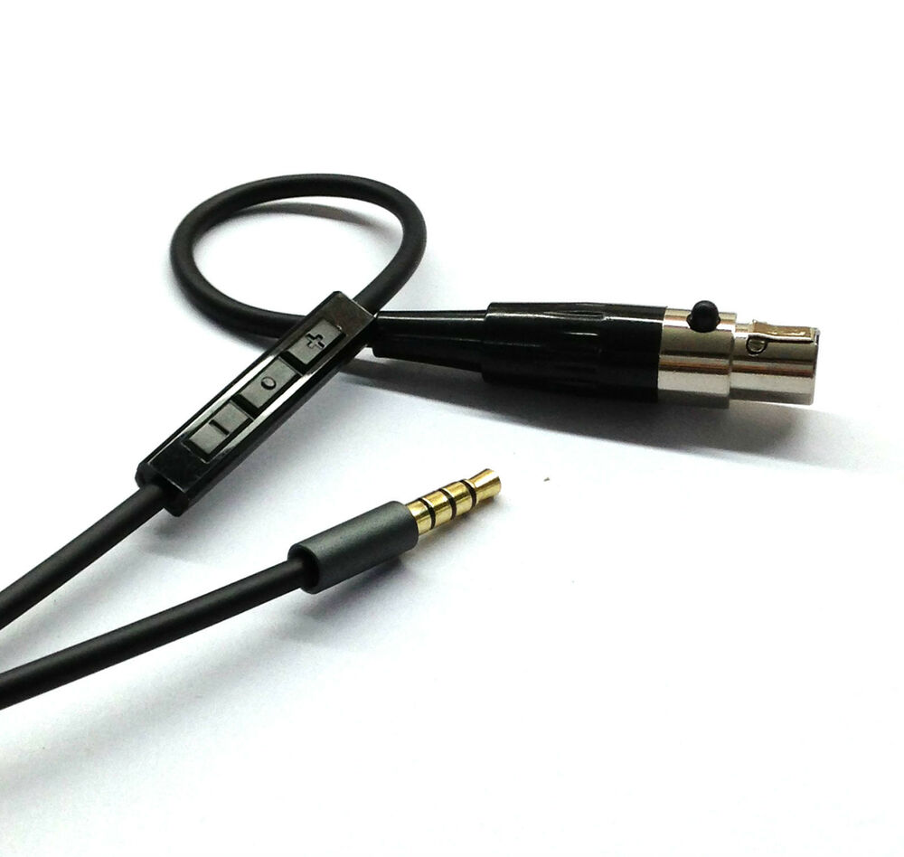 New Cable With Remote Amp Mic For Iphone To Akg Q701 K702