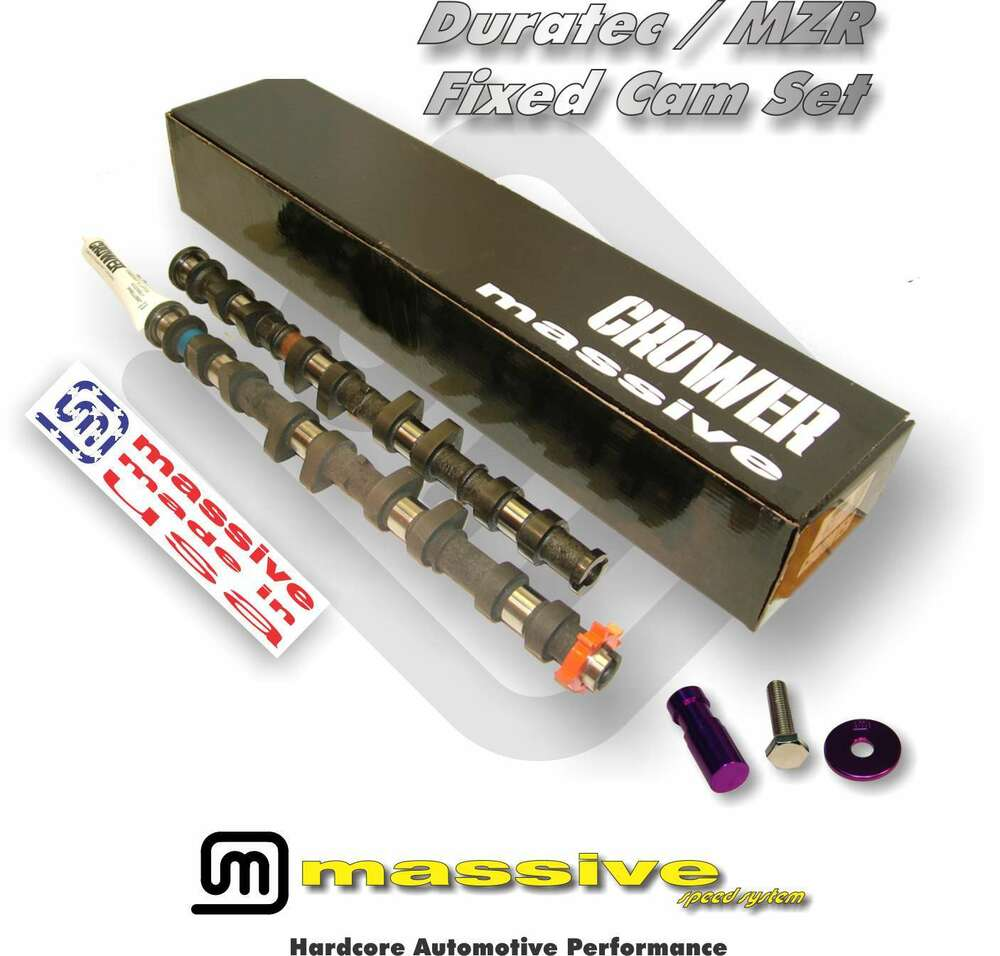 Massive Crower Custom Cams Camshafts Mzr Duratec Fusion