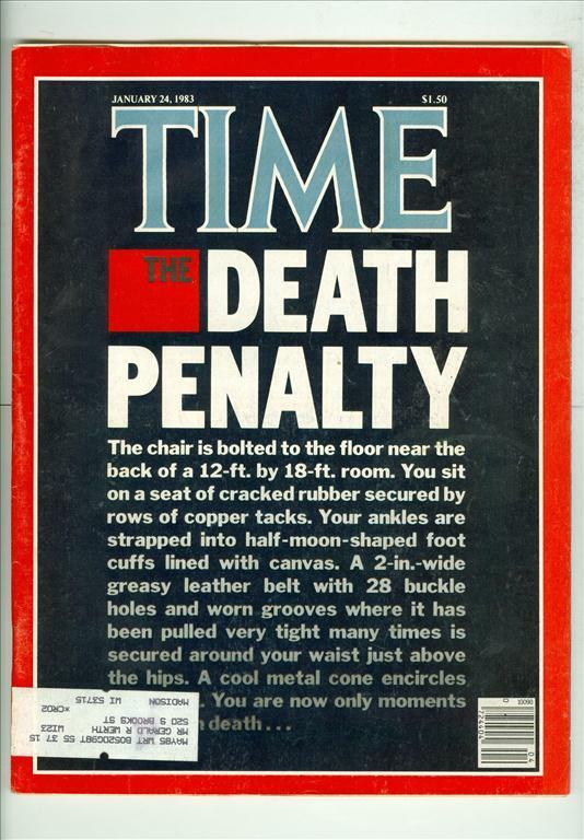 magazine articles or blog posts concerning fatality penalty