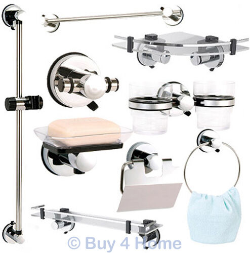 Bathroom Accessories With Suction Cups showerdrape super suction axis bathroom accessories hook ring dish
