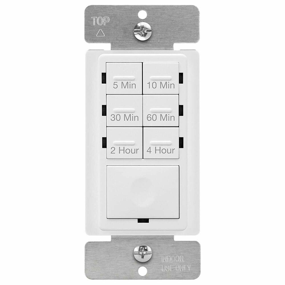 Countdown Timer Light Switch For Fans, LED/CFL, Bathroom