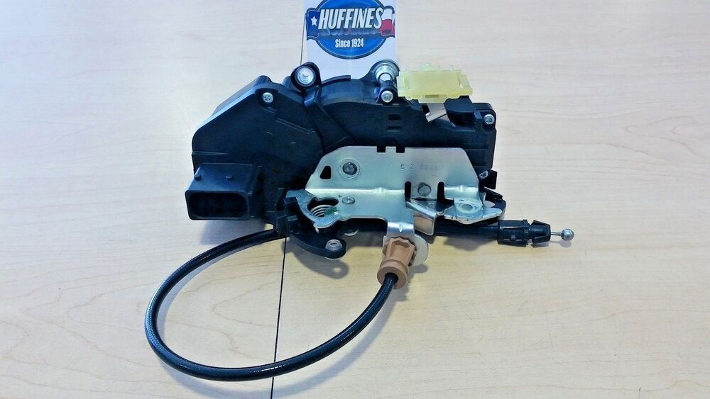chevy silverado door lock new 08 09 chevrolet silverado gmc sierra drivers lh door lock actuator 25876382 fits
