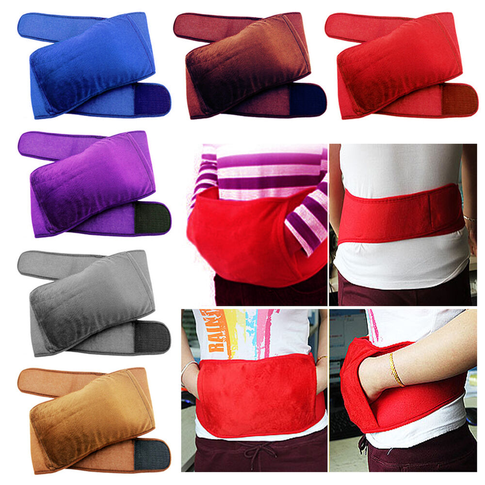 Water Bottle Belt: NEW Varies Types /Colors Electric Hot-water Bottle Bag In