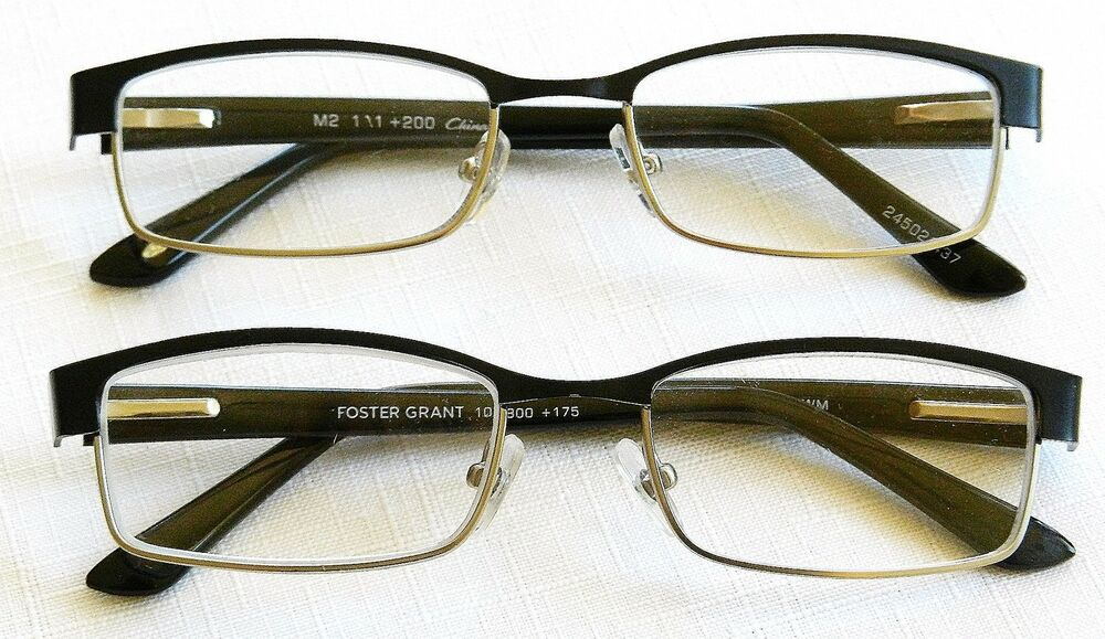 2 pack foster grant quot rowan quot reading glasses retail 40