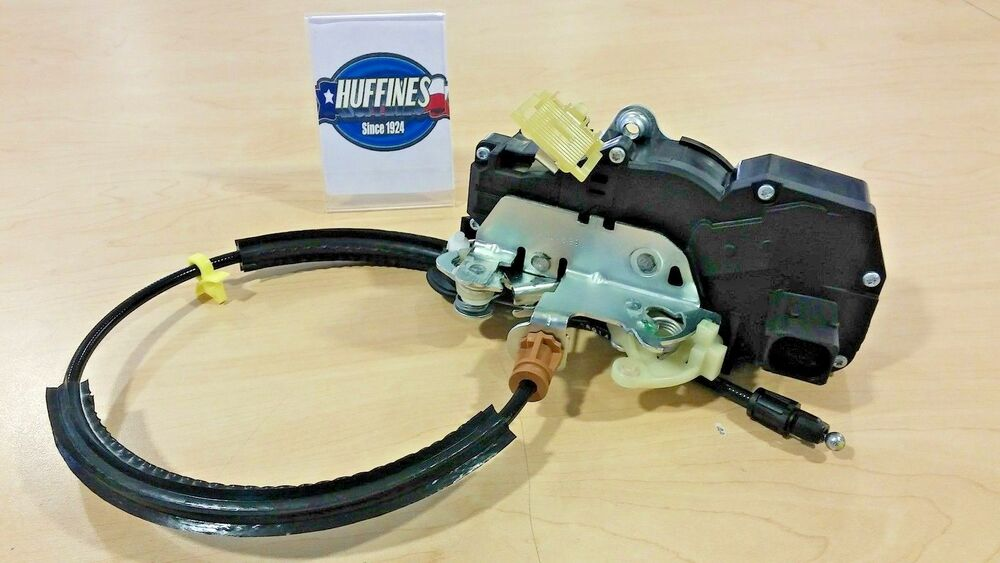 New oem rh rear door lock actuator 08 09 chevrolet tahoe for 08 tahoe door lock actuator