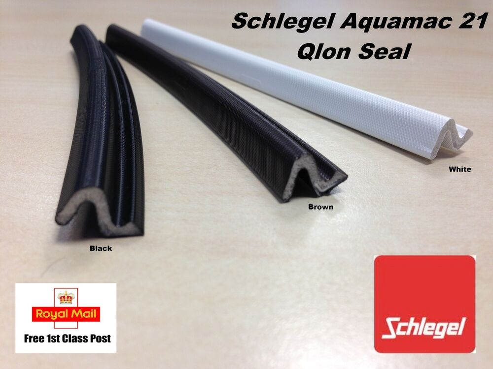 front door sealSchlegel Aquamac 21 Qlon DoorWindow DraftDraught Seal  QL3009