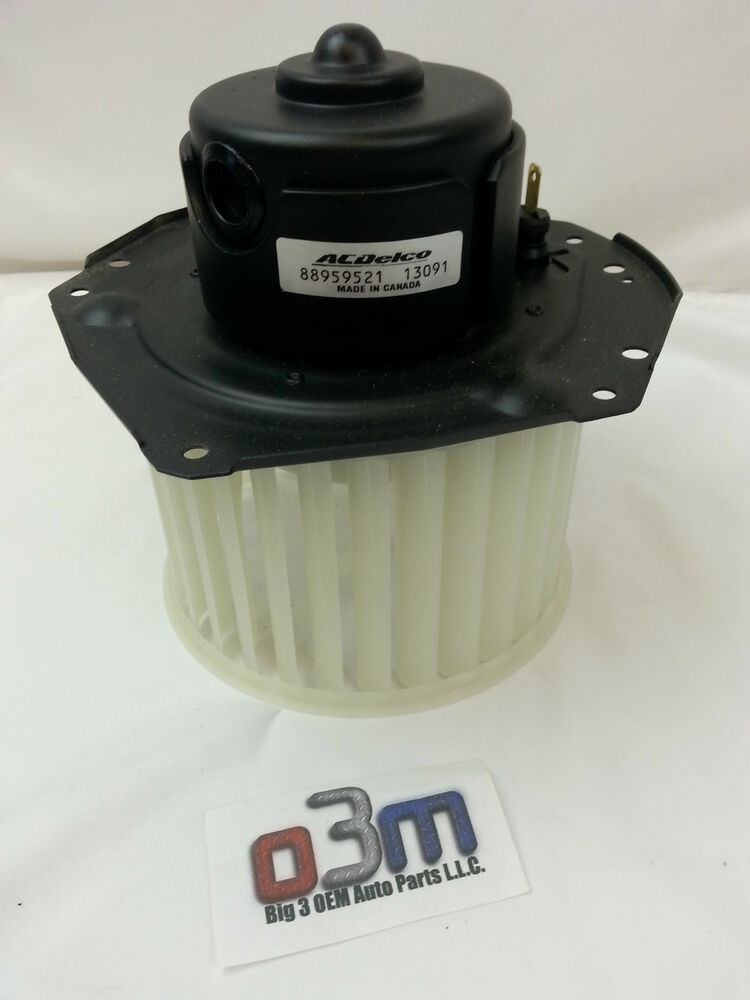 Chevrolet GMC C/K Suburban Tahoe Blower FAN MOTOR w/ cage ...