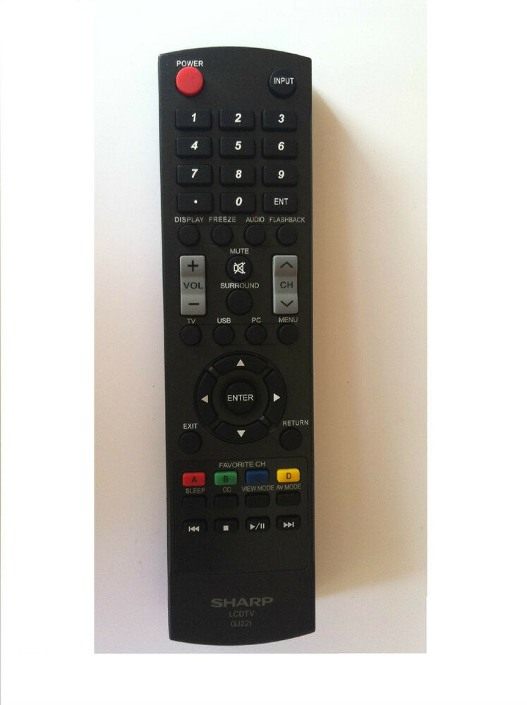 how to connect universal remote to sharp tv