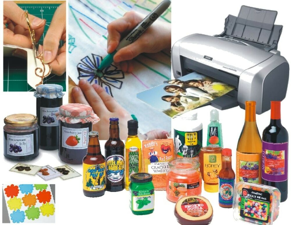 This is a graphic of Exhilarating Waterproof Labels for Inkjet Printer