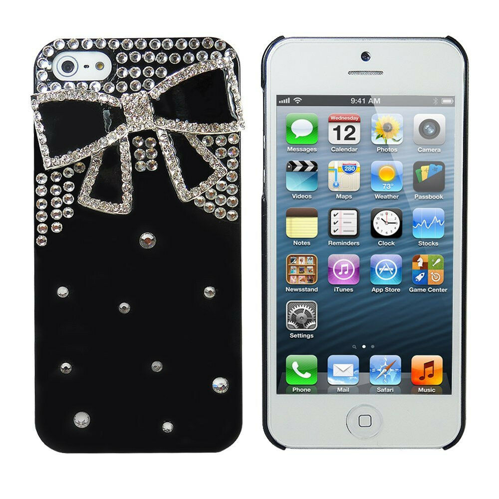 3d iphone 5s cases 3d bling design for iphone 5 5s rhinestone 3127
