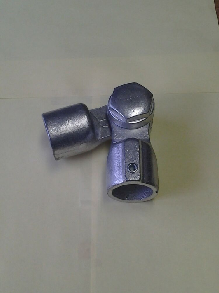 Aluminum alloy structural pipe fittings hand railing