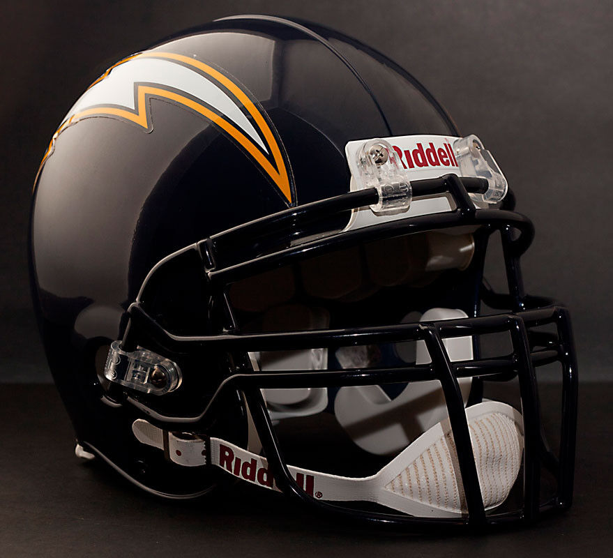 San Diego Chargers Football Record: LADAINIAN TOMLINSON Edition SAN DIEGO CHARGERS Riddell