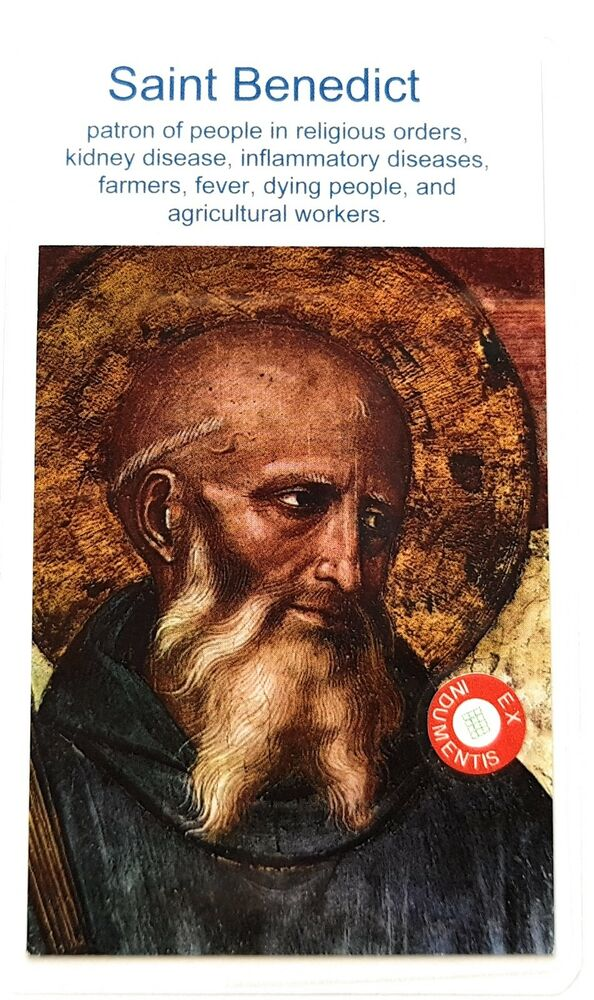 saint benedict single men over 50 The holy rule of st benedict and going forth from the rank of their brethren well trained for single combat it is better to pass all these over in silence.