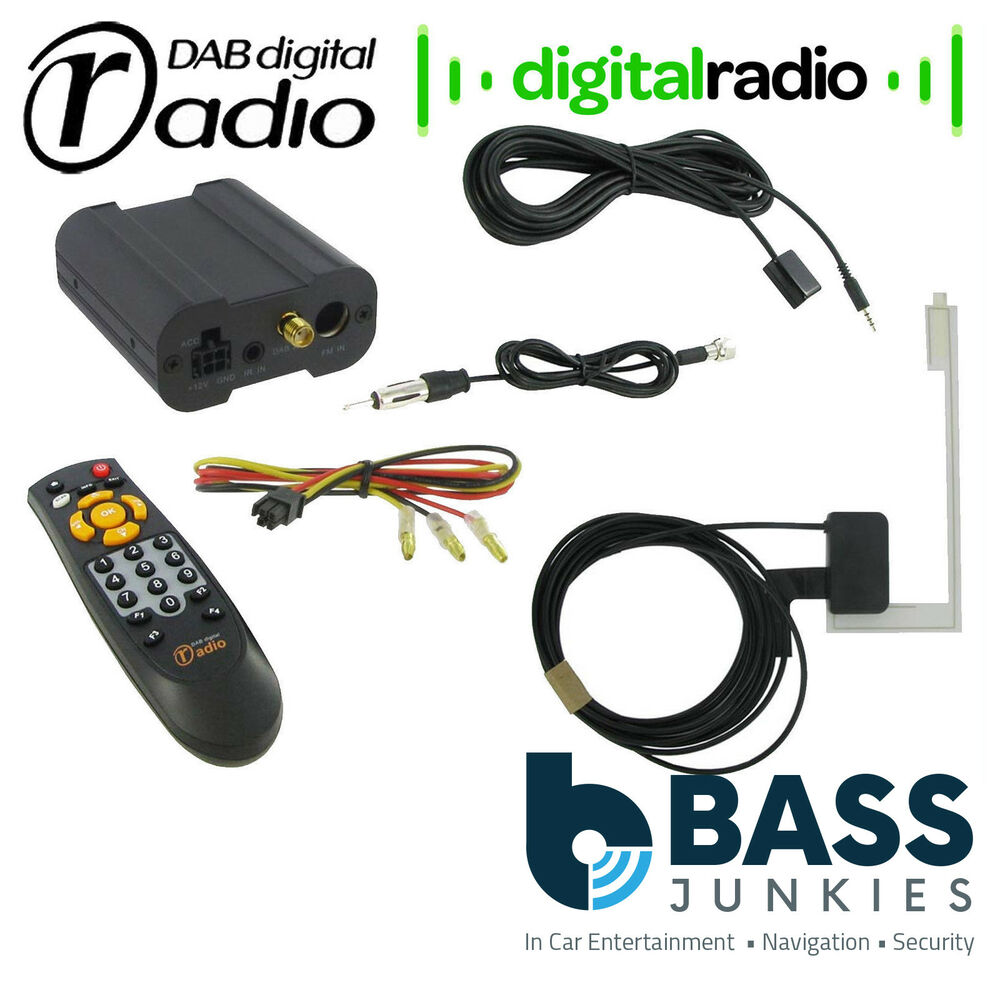 ctdab 2 universal car stereo add on dab dab receiver. Black Bedroom Furniture Sets. Home Design Ideas