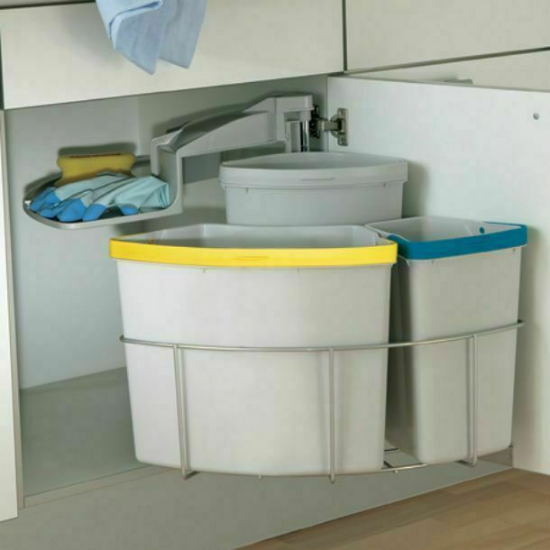Kitchen Cabinets 500mm Of Oeko Centre Swing Out Kitchen Waste Bin Min 500mm Cabinets