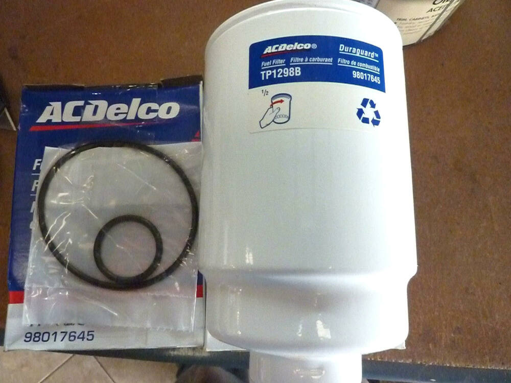 acdelco tp1298b fuel filter chevy chevrolet gmc ebay. Black Bedroom Furniture Sets. Home Design Ideas